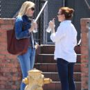 Alyson Hannigan and Leslie Bibb out for lunch in Studio City - 454 x 581