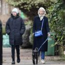 Emma Corrin – Enjoy a stroll in Belsize Park in North London - 454 x 465