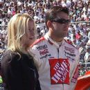 Tony Stewart and Krista Dwyer