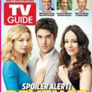 Madeleine Stowe, Emily VanCamp, Joshua Bowman - TV Guide Magazine Cover [United States] (4 March 2012)
