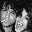 Michael Hutchence and Michele Bennett