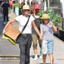 Meg Ryan and daughter Daisy are seen running errands in New York City, New York on September 8, 2015 - 454 x 535