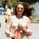 Rebecca Gayheart – Arrives at Stella Mccartney H.E.A.R.T. Brunch in Beverly Hills - 454 x 681