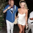 Pamela Anderson At The Chateau Marmont In West Hollywood