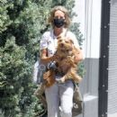 Lady Victoria Hervey – Out for a walk with her dog in West Hollywood - 454 x 681
