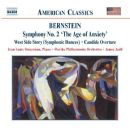 Leonard Bernstein - Symphony No. 2 / West Side Story (Symphonic Dances) / Candide Overture (Florida Philharmonic Orchestra feat. conductor: James Judd, piano: Jean Louis Steuerman)