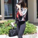 Selena Gomez Leaving a yoga class in Los Angeles