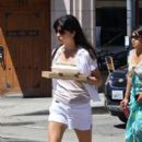 Selma Blair went to Abbot Kinney buy some groceries on Saturday morning