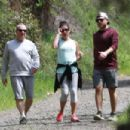Lea Michele – Goes for a hike in LA