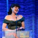 Actress Pauley Perrette attends the Los Angeles LGBT Center 47th Anniversary Gala Vanguard Awards at Pacific Design Center on September 24, 2016 in West Hollywood, California - 454 x 306