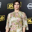 Alexandra Daddario – 'Solo: A Star Wars Story' Premiere in Los Angeles - 454 x 681