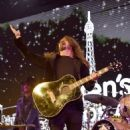 """Dave Grohl performs onstage at the 2018 Children's Hospital Los Angeles """"From Paris With Love"""" Gala at LA Live on October 20, 2018 in Los Angeles, California"""