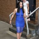 Nikki And Brie Bella Arrives – Seen at The Chew In New York - 454 x 599