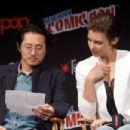 Lauren Cohan- October 8, 2016- AMC Presents 'The Walking Dead' at New York Comic Con - 454 x 302