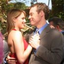 Tate Donovan and Amanda Righetti