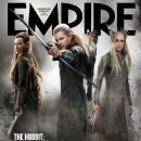 Orlando Bloom, Evangeline Lilly, Lee Pace - Empire Magazine Cover [United Kingdom] (August 2013)