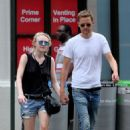 Dakota Fanning With Boyfriend Out In Nyc