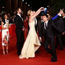 """""""Catching Fire"""" premiere in Rome (November 14)"""