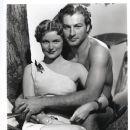 Lex Barker and Virginia Huston