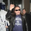 Ace Frehley at the opening of the Hard Rock Cafe at Yankee Stadium on April 7, 2009