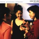 Left: Michelle Krusiec as Wilhelmina Pang; Center: Lynn Chen as Vivian Liu; Right: Filmmaker, Alice Wu; Photo by: Larry Riley. - 454 x 335