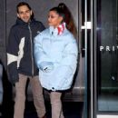 Ariana Grande – Leaving a building in New York