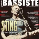 Sting - Bassiste Magazine Cover [France] (August 2019)