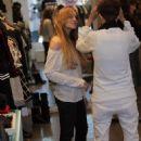 Lindsay Lohan - Satine Clothing Boutique, 2008-08-21