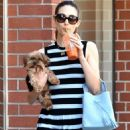 Emmy Rossum With Her Dog – Out in Beverly Hills - 454 x 681