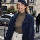 Karlie Kloss at the Dior store in Paris - 454 x 669