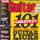Guitar One Magazine Cover [United States] (September 2004)