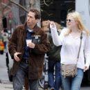 Dakota Fanning's Windy Walk In NYC