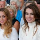 Princess Iman with Queen Rania - 454 x 301