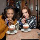 Lindsay Lohan – Enjoying a Frozen Hot Chocolate at Serendipty 3 in NY