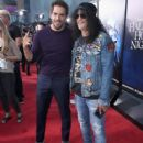 Slash and Eli Roth attend Halloween Horror Nights 2018 at Universal Studios Hollywood on September 14, 2018 in Los Angeles, California - 417 x 600