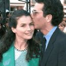 Julia Ormond and Jon Rubin