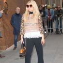 Jessica Simpson – Arrives at The View in New York - 454 x 598