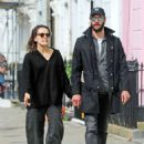 Daisy Ridley and Tom Bateman – Out in Primrose Hill - 454 x 623