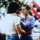 Justine Bateman and Roger Wilson