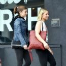 Kate Mara and Kristen Bell – Hit the gym together in Los Felize
