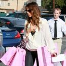 Kate Beckinsale And Len Wiseman Out Shopping In Brentwood