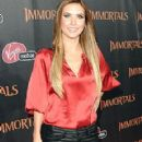 Audrina Patridge At The LA Immortals Premiere