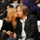 Tom Petty and Dana York - 392 x 589