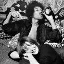 Jimi Hendrix and Kathy Etchingham - 454 x 544