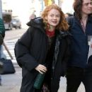 Emily Beecham – Outside Build Series in New York City - 454 x 454