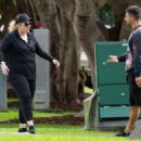Rebel Wilson – Workout in a Sydney park - 454 x 324