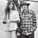 Jane Fonda and Tom Hayden with son Troy
