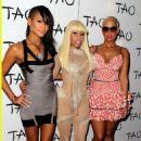 Amber Rose attends Nicki Minaj's 26th Birthday Party at Club Tao in Las Vegas, Nevada - December 9, 2010 - 454 x 687