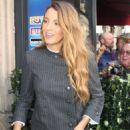 Blake Lively at a French television studio in Paris