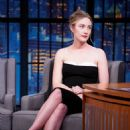 Saoirse Ronan – On 'Late Night with Seth Meyers' in New York City